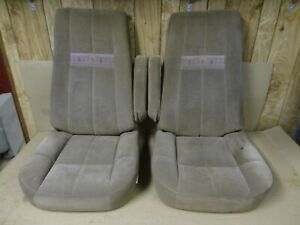 87 91 Full Size Ford Bronco Eddie Bauer Seats Front Captain Rear