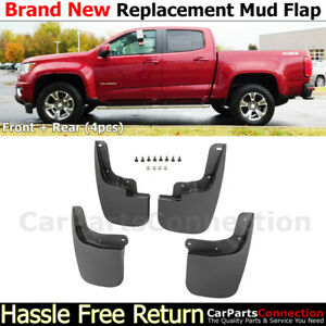 Splash Guards For 15 19 Chevy Colorado Gmc Canyon Front Rear Left Right Mudguard