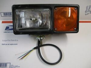 Western Or Fisher Drivers Side Snow Plow Light With Hardware New Made By Grote