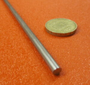 303 Stainless Steel Rod 5 Mm Diameter 030mm X 36 Inch Length 2 Units