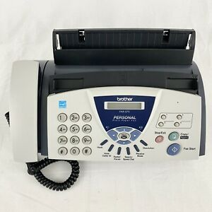 Brother Fax 575 Personal Plain Paper Fax Phone And Copier Machine Office