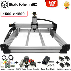 1 5 1 5m Workbee Cnc Router Machine Full Kit Mach3 2 2kw Cnc Router Engraver