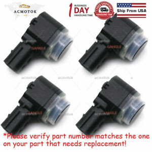4pcs Pdc Bumper Reverse Backup Parking Aid Assist Sensor For Ford 8a53 15k859 Ab