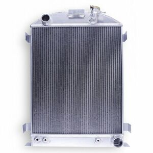 Aluminum Radiator 3 Row For 1932 1934 Ford Hi Boy Grill Shells Chevy V8 At Mt