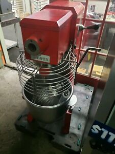 Univex 20 Qt Commercial Mixer With Bowl Bowl Guard Paddle And Whip