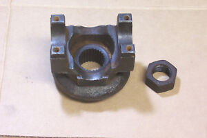 1972 Other Dodge Charger 8 1 4 Rear End 3rd Member Pinion Gear Yoke Nut 27t
