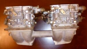 Fiat X1 9 Dual Weber 42 Dcnf Carburators And Pbs Intake
