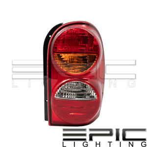 Left Driver Side Lh Rear Brake Tail Lamp For 2002 2004 Jeep Liberty