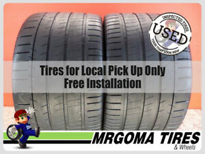 2 Michelin Pilot Super Sport Zp Rft 335 25 20 Used Tires 93 Rmng 99y 3352520