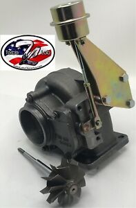 67mm Cummins Holset Wh1c Hx35w Hx40 Turbo Turbine Housing turbine Wastegate