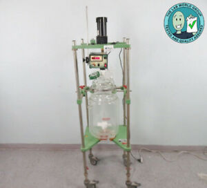 Chemglass Lab Reactor System 19 Liter With Warranty See Video