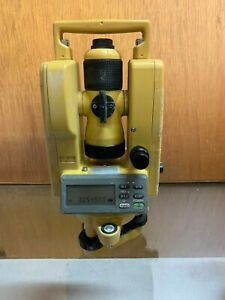 Topcon Dt 200 Waterproof And Dustproof Digital Theodolite Kit With Case