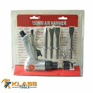 5 Piece Air Hammer And Chisel Set