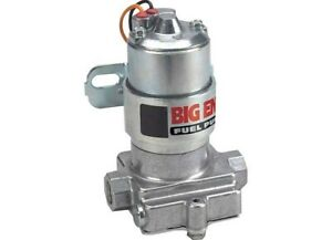 Big End Performance 130 Gph Racing Electric Fuel Pump 10106 For Alcohol Methanol