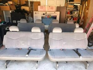 Bench Seats From 2005 Chevy Astro Vans amazing Condition