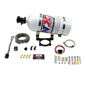 Nitrous Express For 11 15 Ford Mustang Gt 5 0l Coyote 4 Valve Nitrous Plate Kit