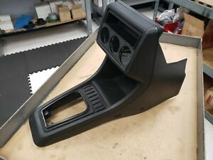 Vw Golf Gti Jetta Mk2 Black Center Console Modified For Gauges 85 92