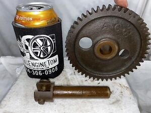Timing Gear 2 1 4 Hp Associated United Part Acb Hit Miss Gas Engine Cast Iron