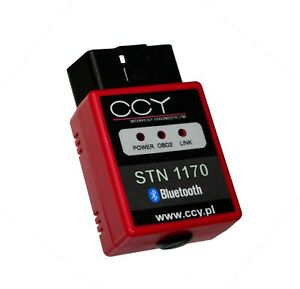 Diagnostic Interface Obd2 Stn1170 Bluetooth Ccy Hs can Ms can Ford And Other