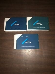 Lot Of 3 Paypal Here Credit Card Reader