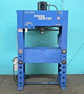 Press Master 150 Ton Hydraulic Shop Press Hfp 150t