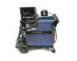 Miller Syncrowave 250 Ac dc Welding Power Source W Radiator 1a Cooling System