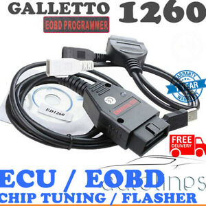 Galletto 1260 Ecu Diagnostic Cable Eobd Obd2 Programmer Remap Flasher Tunning