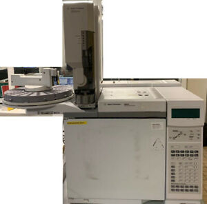 Agilent 6890n Network Gc With 2 Injector 7683 7683b Computer Cd room