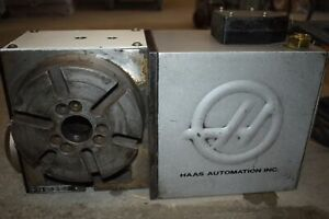 Haas Hrt160 4th Axis Rotary Table Indexer Sn 162229