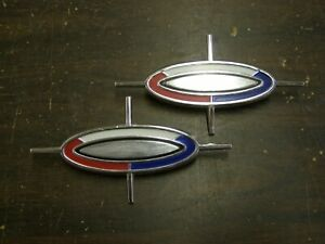 Nos 1963 Ford Galaxie 500 Xl Roof Side Ornaments Emblem