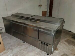 Continental Cpa93 Pizza Salad Sandwich Prep Table Tested 115v