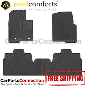 Road Comforts All Weather Floor Mat 207001 4 Pc For Ford F 150 2013 Super Cab