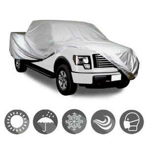 Fit 02 14 Cadillac Escalade Ext Crew Cab 7 Ft Bed Outdoor Truck 4 Layer Cover