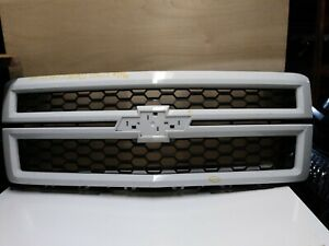 2014 2015 Chevy Silverado 1500 Ltz Front Grille Oem Used