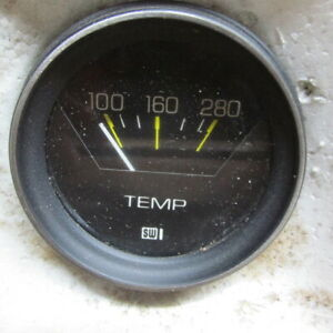 Nos Stewart Warner Stage 1 Temperature Gauge Street Rod Rat Rod Ford Chevy