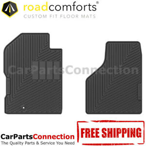 Road Comforts All Weather Floor Mat 205759 Front For Dodge Ram 2500 2000 Reg Cab
