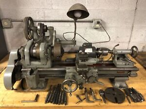 Vintage South Bend 9 Lathe With Some Tooling