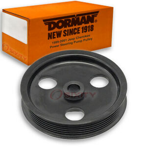 Dorman Power Steering Pump Pulley For Jeep Cherokee 1999 2001 Qb