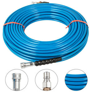 Pressure Washer Hose Carpet Cleaning Hose 1 4 150ft W Valve 120 Cold Water