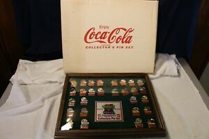 1993 Limited Edition Coca Cola NFL Monsters of the Gridiron Collector's Pin Set