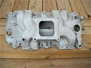 1968 1969 Big Block Chevy Rectangle Port Intake 3933163 Winters Snowflake Copo