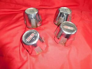 1968 1969 70 71 72 Oldsmobile Cutlass 442 Wheel Center Cap Set 4 Rally Bolt On