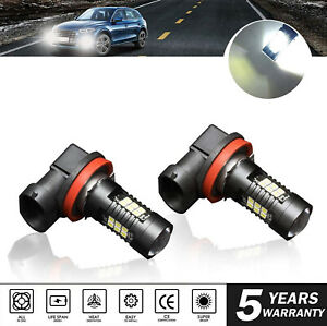 H11 H8 H9 Led Fog Light Bulbs Driving Headlight Hi Lo Drl 6500k Hid White