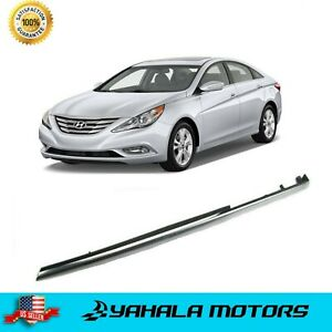 Front Right Pass Fender Chrome Molding Trim For 2011 2014 Hyundai I45 Sonata
