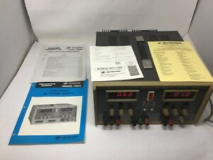 Bk Precision 1660 Triple Output Dc Power Supply Tested Works