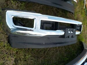 Factory Ford F250 F350 Chrome Front Bumper 2017 2018 2019 Bb120f
