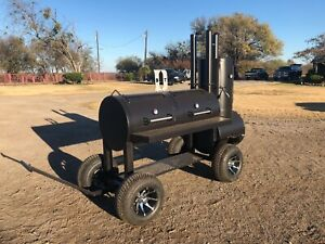 New Custom Patio Bbq Pit Smoker Charcoal Grill