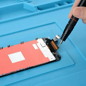 Heat Resistant Silicone Pad Heat Insulation Desk Mat Soldering Repair Safety