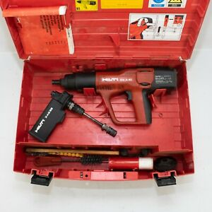 Hilti Dx A40 Powder Actuated Concrete Gun W X am32 And Case