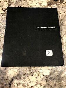 John Deere Technical Manual Model D Pc c63 40 Spreader Pc 1102 32 Spreader Pc 10